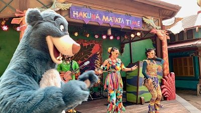 Hakuna Matata Time Dance Party (Disney World Attraction)
