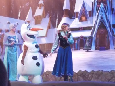 For the First Time in Forever A Frozen Sing-Along Celebration (Disney World Show)