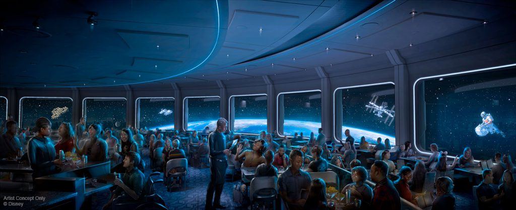 epcot space 220 restaurant