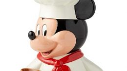 Chef Mickey Mouse Cookie Jar | Disney Kitchen
