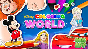 Color by Disney (Mobile Game)