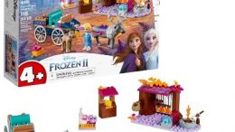 Frozen 2 Elsa's Wagon Carriage Adventure 41166 | LEGO Disney
