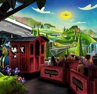 Mickey & Minnie's Runaway Railway (Disneyland)
