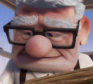 Carl Fredricksen up