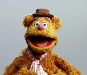 Fozzie Bear muppets
