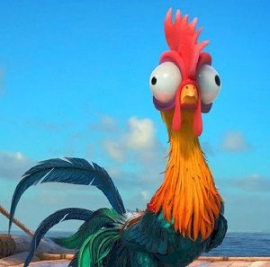 Heihei the Rooster moana