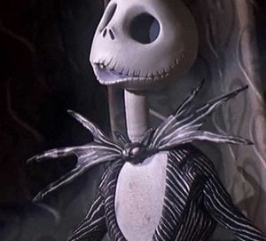 Jack Skellington the nightmare before christmas