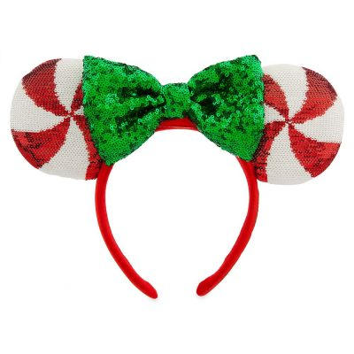 Minnie Mouse Peppermint Candy Ears | Disney Christmas