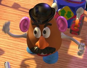 Mr Potato Head toy story pixar