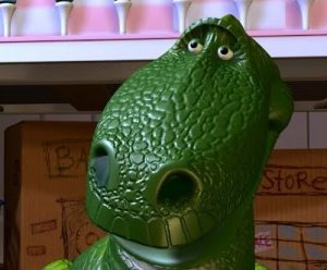 Rex the Dinosaur toy story pixar