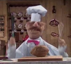 The Swedish Chef muppets