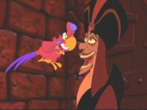 iago jafar aladdin animated