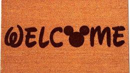 Disney Mickey Mouse Welcome Doormat