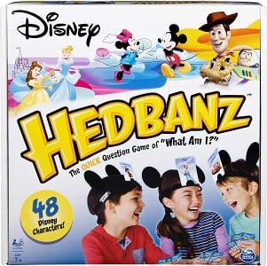 HedBanz Disney, Guessing Game Featuring Disney Characters