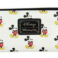 Loungefly Classic Mickey All Over Zip Wallet