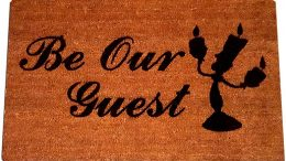 Lumiere Be Our Guest Welcome Doormat