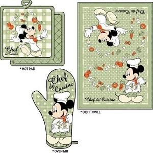 Mickey Chef de Cuisine Kitchen Towel Set