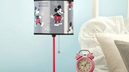 Mickey Mouse 90th Anniversary Lamp Details