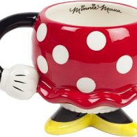 Minnie Mouse Red Ceramic Drinking Mug with Arm