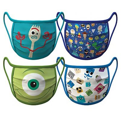 Pixar Face Masks 4-Pack | Disney Face Masks