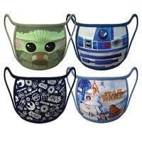 Star Wars Face Masks 4-Pack | Disney Face Masks