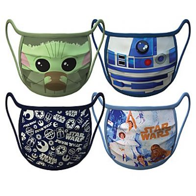 Star Wars Face Masks 4-Pack | Disney Face Masks