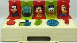 Disney Characters Poppin Pals Busy Box Toy - 1975
