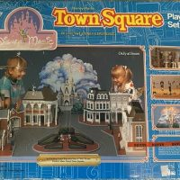 Disney Magic Town Square Play Set - 1988
