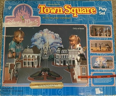 Disney Magic Town Square Play Set – 1988