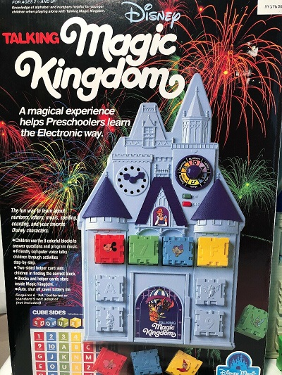 Disney Talking Magic Kingdom Toy – 1988