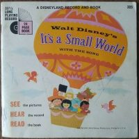 It's a Small World Book & Record 33 1/3rpm - 1968