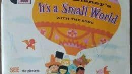 It's a Small World Book & Record 33 1/3rpm - 1968