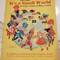It's a Small World Paper Dolls - 1966