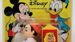 Pinocchio Disney Matchbox Diecast Car - 1979