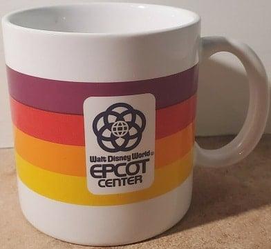 Vintage Epcot Coffee Mug – 1982