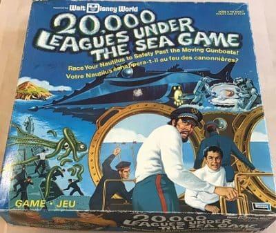 Walt Disney World 20,000 Leagues Under the Sea Board Game – 1975