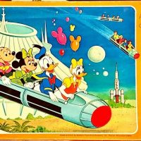 Walt Disney World Board Game - 1977