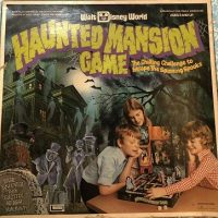 Walt Disney World Haunted Mansion Board Game - 1975