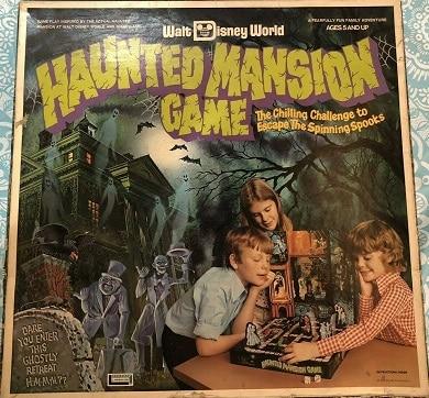 Walt Disney World Haunted Mansion Board Game – 1975