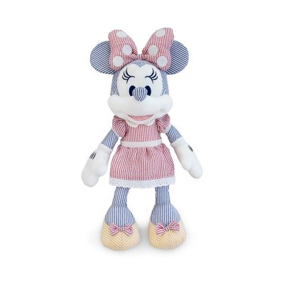 Minnie Mouse Seersucker Plush