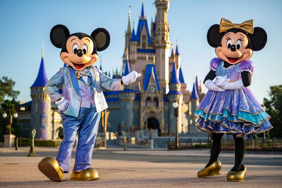 disney world 50th anniversary mickey minnie costumes