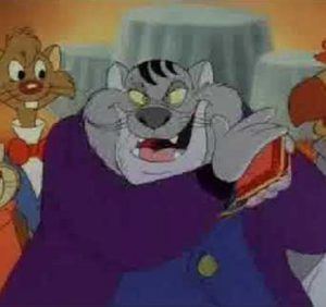 Fat Cat Chip 'n Dale Rescue Rangers
