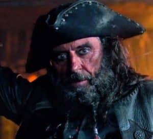Blackbeard Of The Caribbean On Stranger Tides