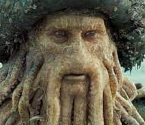 Davy Jones pirates Of The Caribbean The Curse Of The Black Pearl