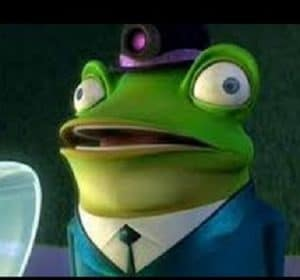 Frankie the Frog meet the robinsons