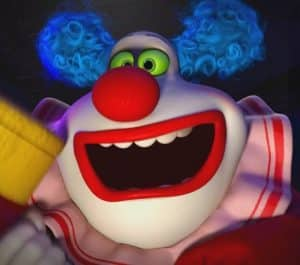jangles the clown inside out